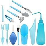 12 piezas kit de herramientas de transplantar suculentas...