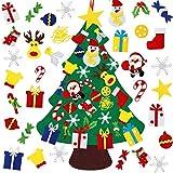 HNSHAG Árbol de Navidad de Fieltro para Bricolaje, Árboles...