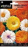 Semillas de Flores - Caléndula semi alta doble variada -...