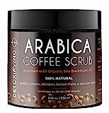 Exfoliante Facial Natural de Café Arábica con Sal Mar...