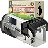 Motel Mouse Trampa para Ratones Sin Muerte - Altamente...