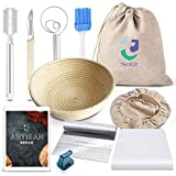 TACKLY Kit para Hacer Pan con Receta y Pack de Utensilios...