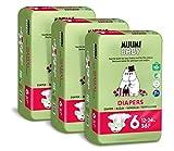 Pañales ecológicos Muumi Baby, talla 4, 7-14 KG, 138...