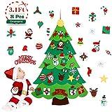 Aitsite Árbol de Navidad de Fieltro, Árbol Navidad niños,...