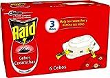 Raid ® Cebos - Trampas anticucarachas. Elimina cucarachas,...