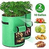 Tvird Macetero Bolsa Planta 2 Pack, Bolsa de Verduras,...
