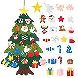 LANMOK 3D Árbol de Navidad de Fieltro DIY Árbol de Navidad...