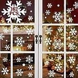 heekpek 162 Pegatinas Decorativas de Copo de Nieve para...