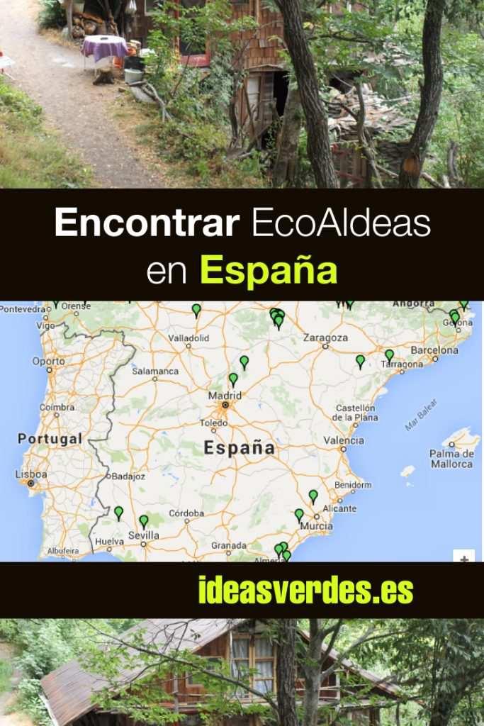 ecoaldeas en España donde