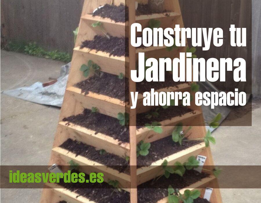 Como hacer una jardinera para ahorrar espacio ideas verdes for Que plantas poner en una jardinera