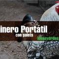 Gallinero-Portatil
