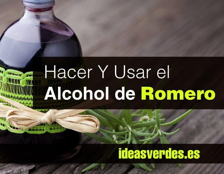 Como hacer alcohol de romero para celulitis