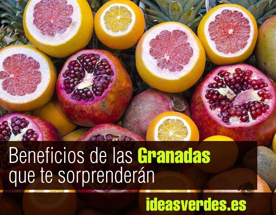Propiedades Y Beneficios De Consumir Granada 2 Recetas Que