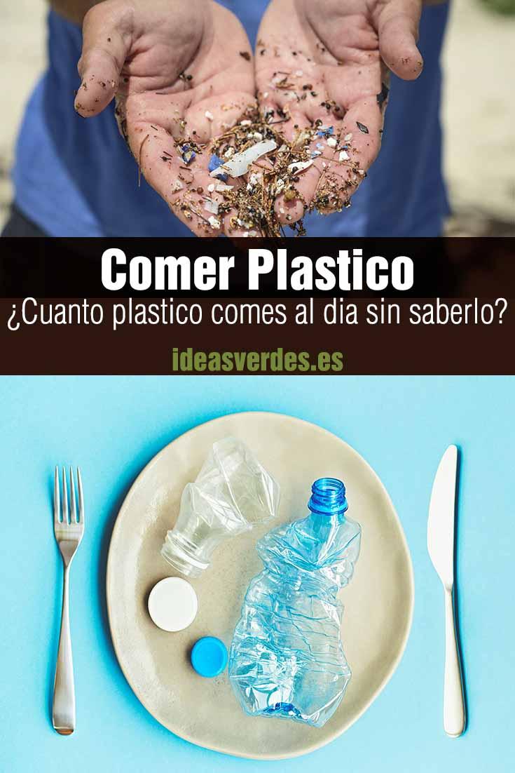 Cuanto plastico comes