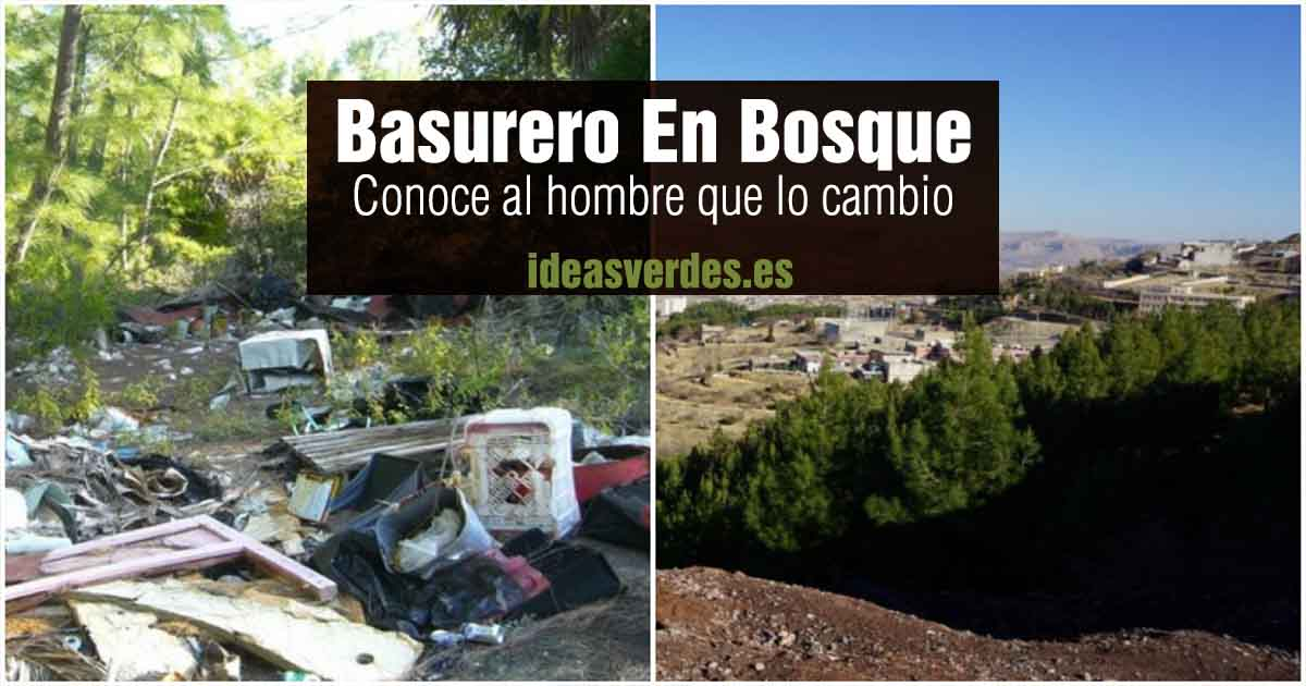 basurero bosque