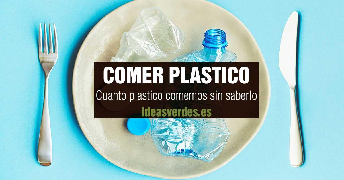 comer plastico