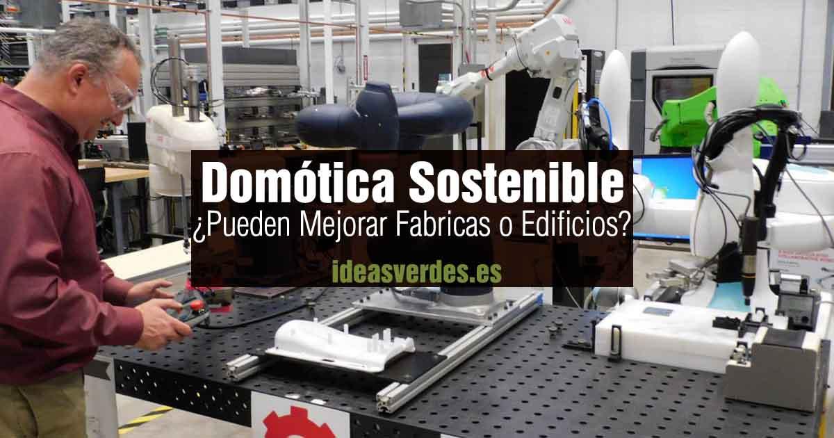 domotica sostenible