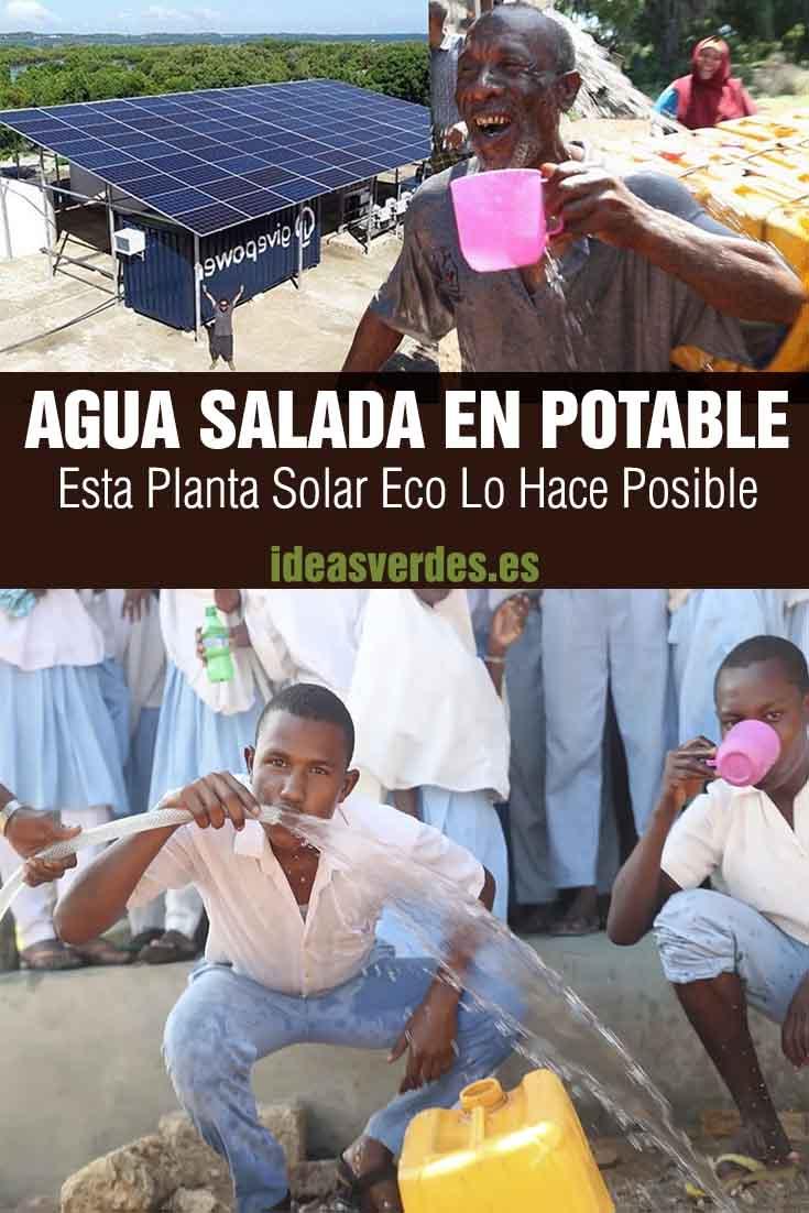 planta solar transforma agua salada en potable
