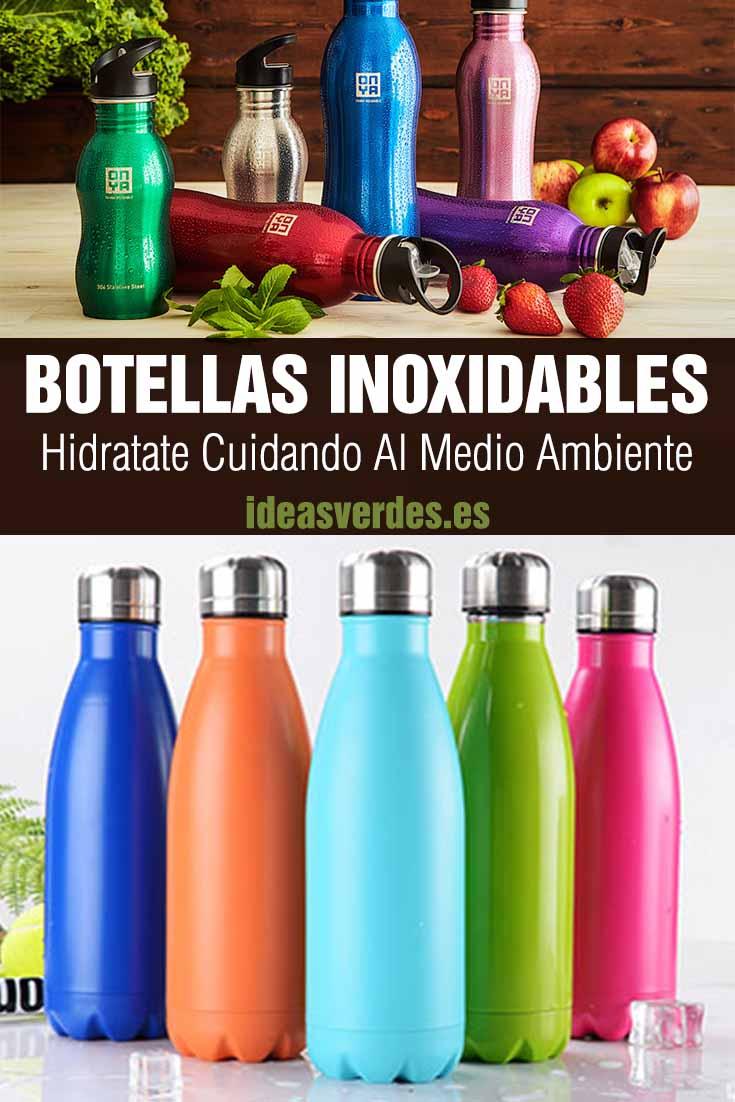 botellas inoxidables medio ambiente