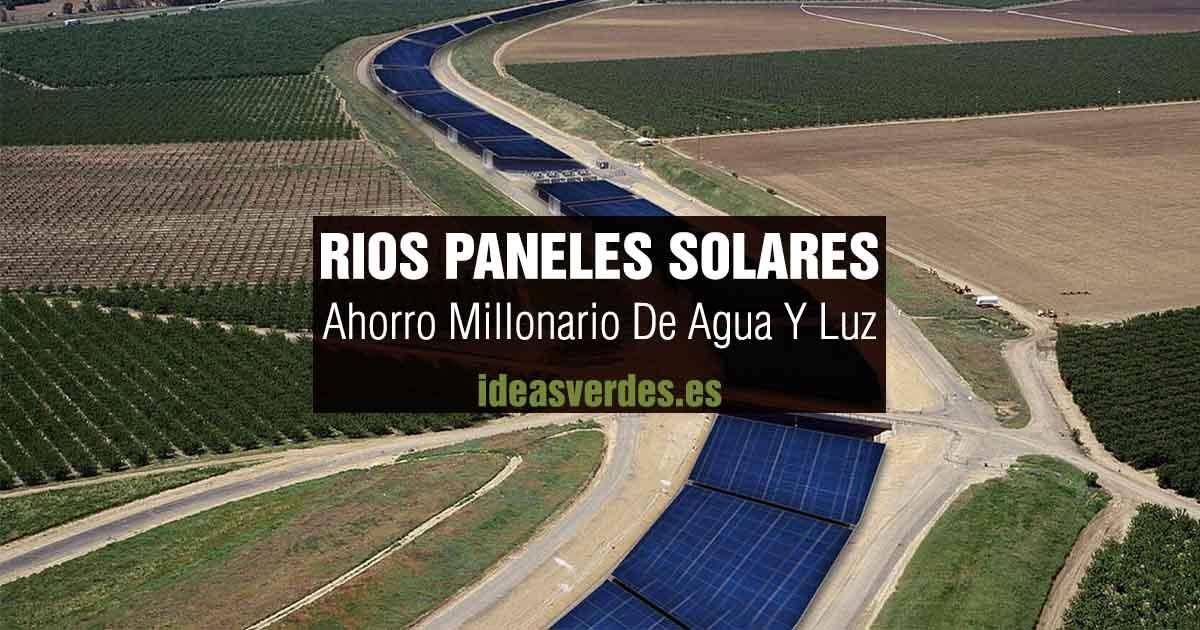 rios de paneles solares ahorro