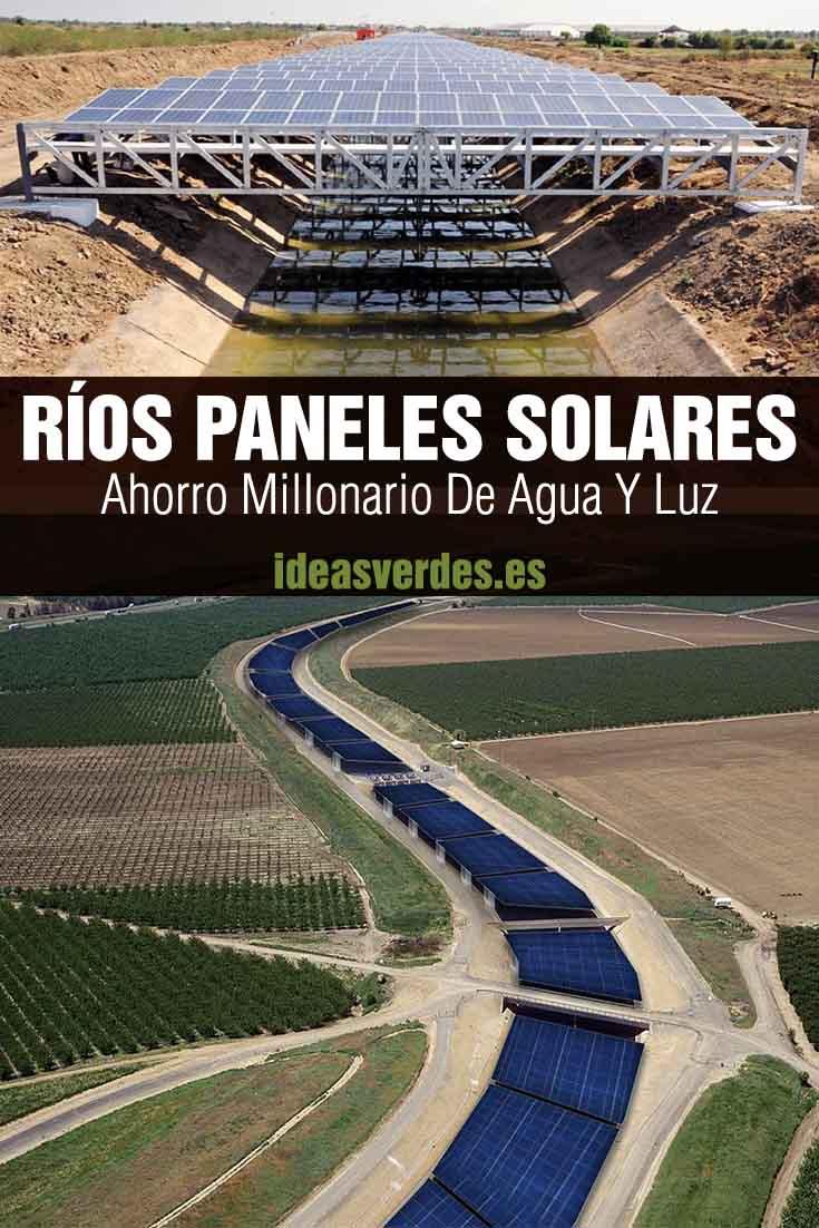 ríos solares canal panel