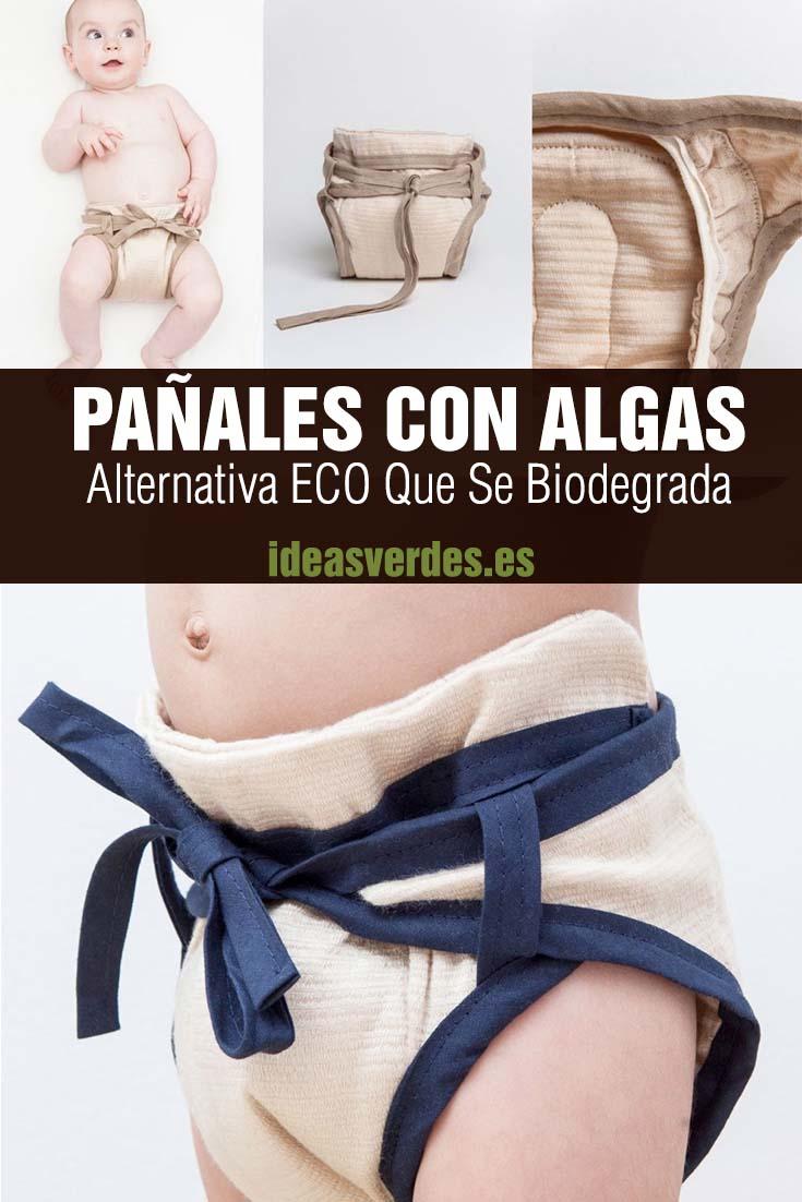 Pañales Hechos Con Algas Biodegradable