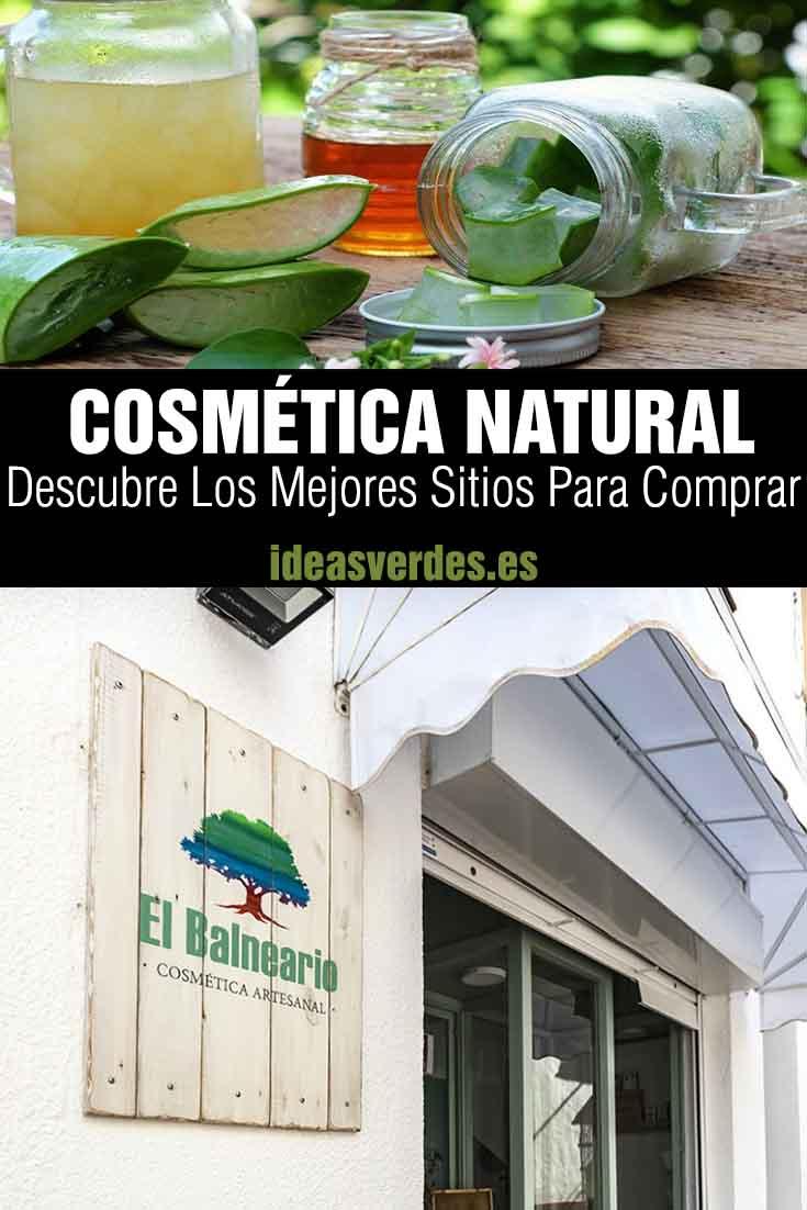 donde comprar cosmética natural