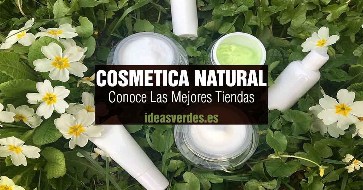 las mejores tiendas de cosmética natural