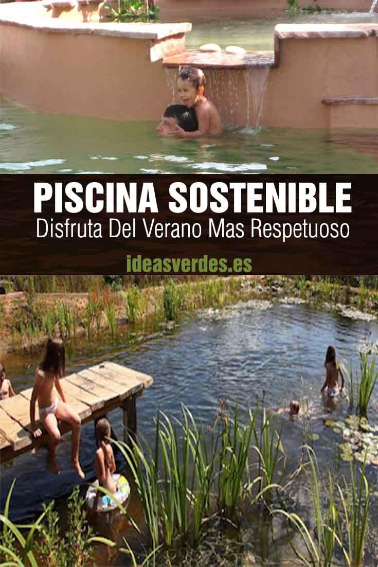 piscina sostenible medio ambiente