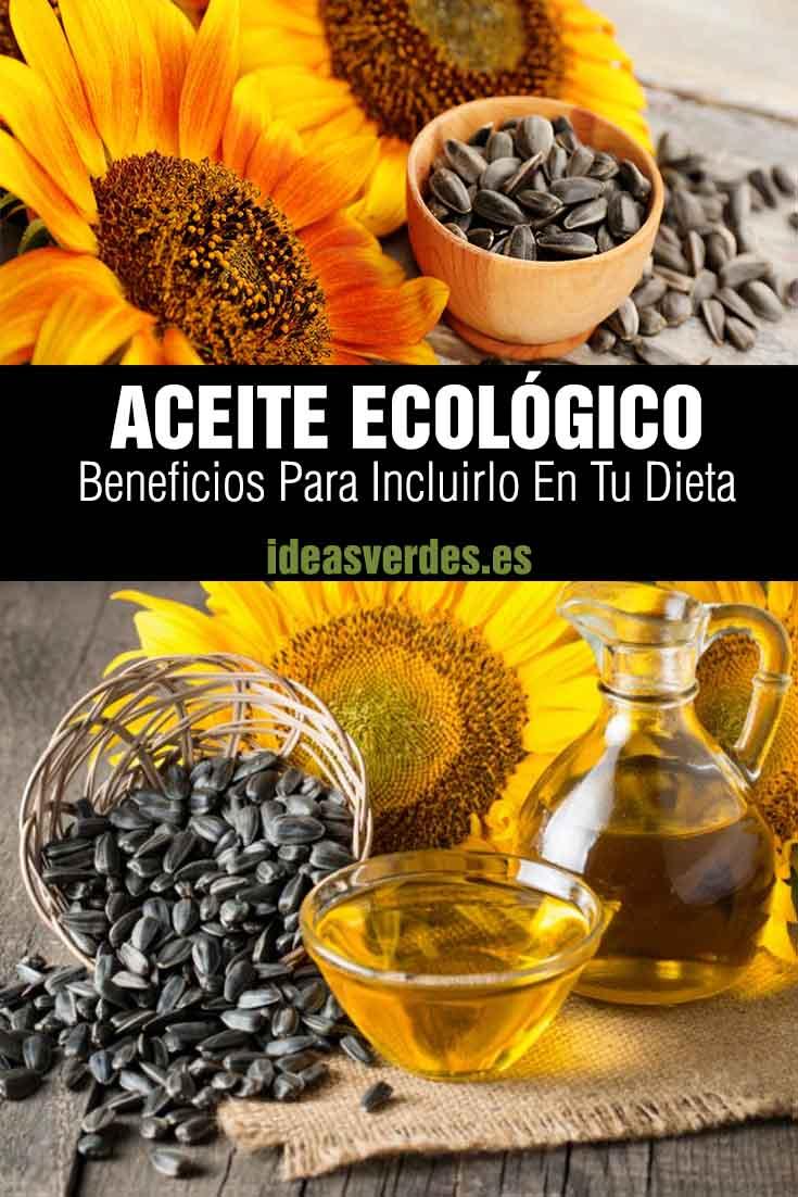 beneficios dieta aceite ecológico