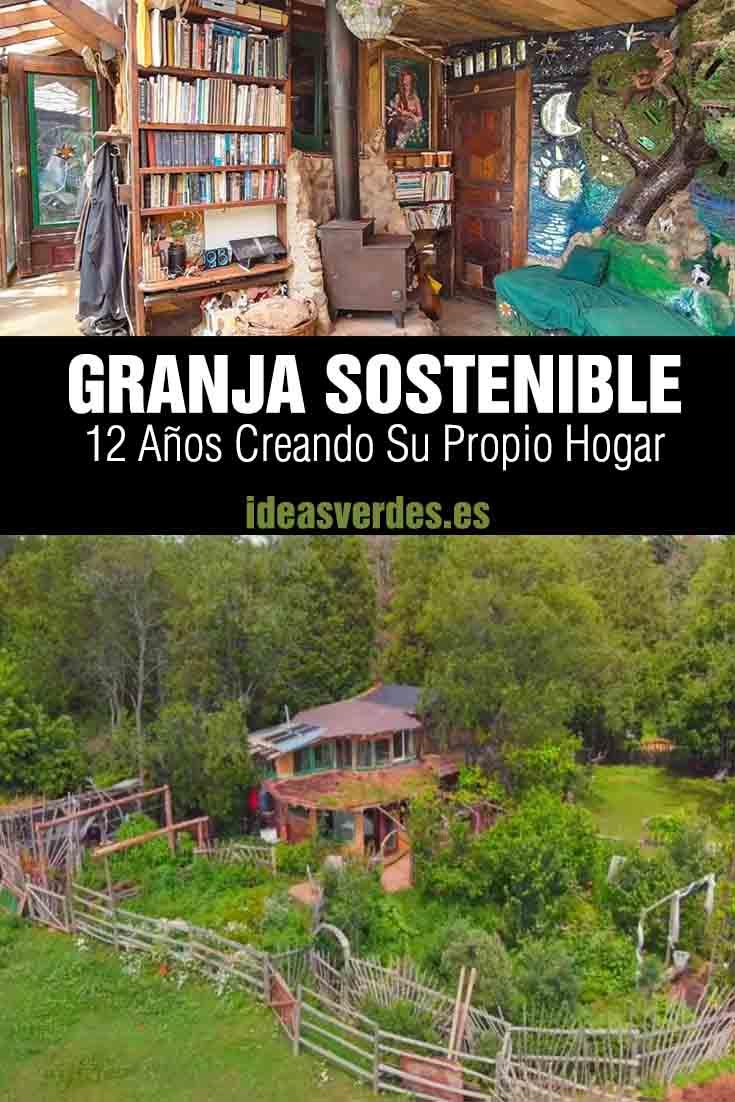 granja sostenible con casa de adobe permacultura