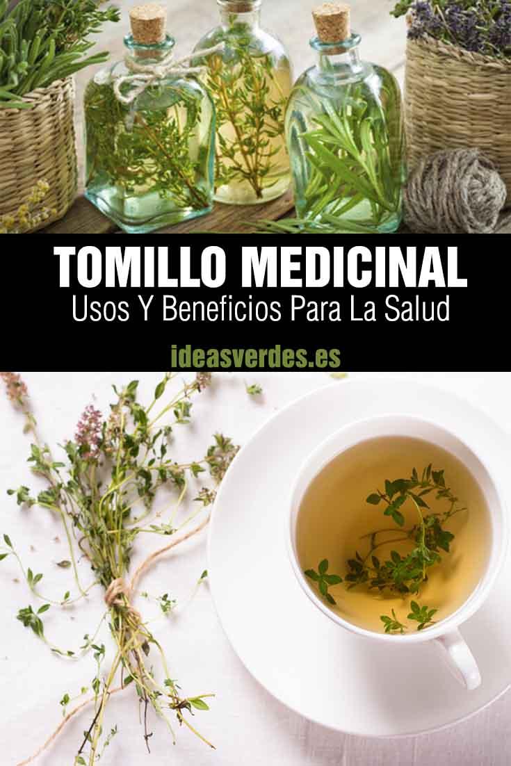 infusion de tomillo para la salud