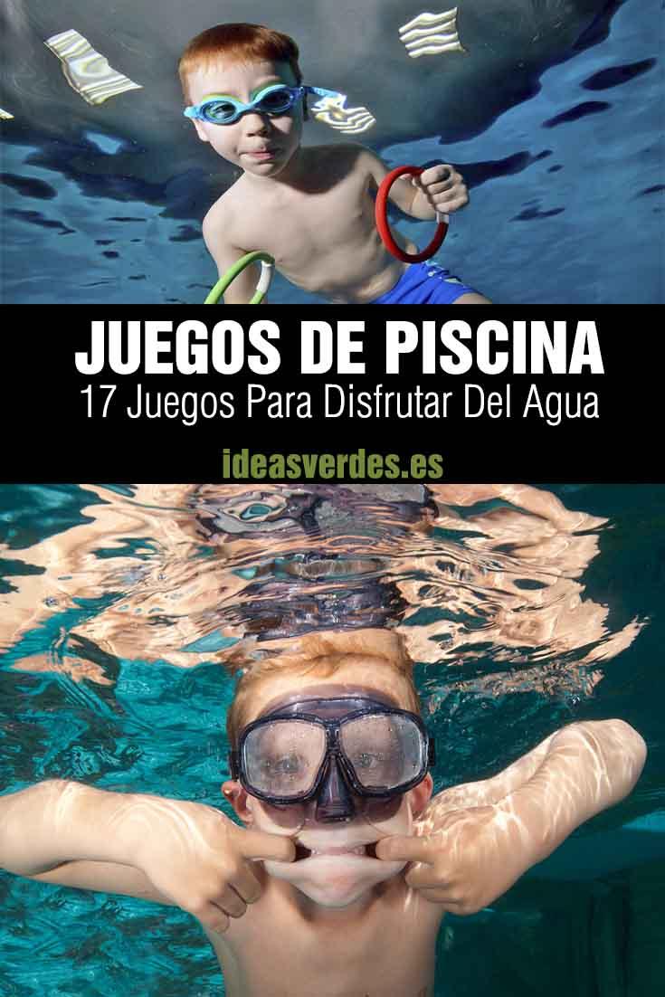 juegos de piscina niños