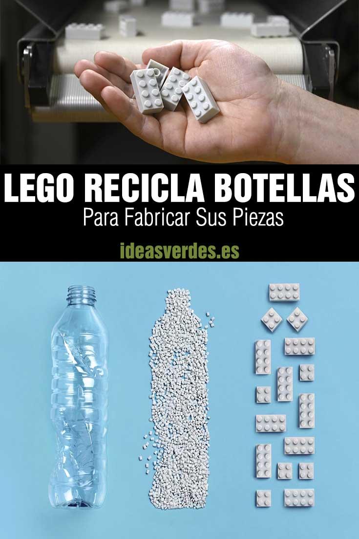 lego recicla botellas para hacer piezas