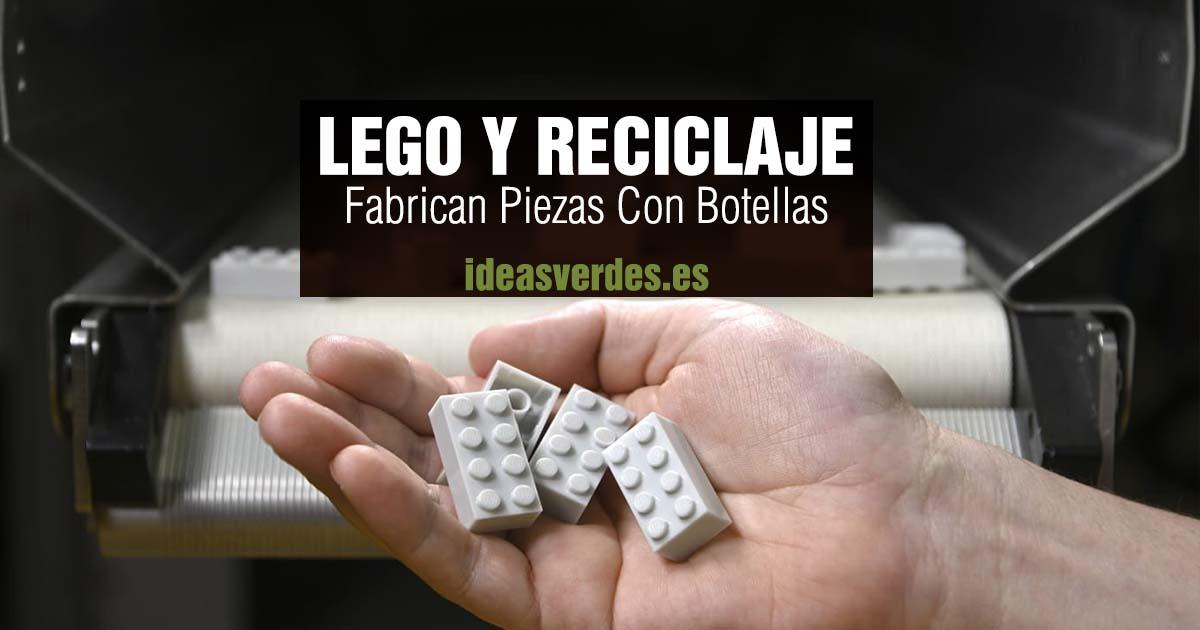 lego y piezas recicladas