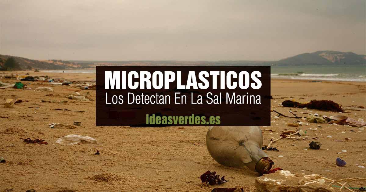 microplasticos en la sal marina