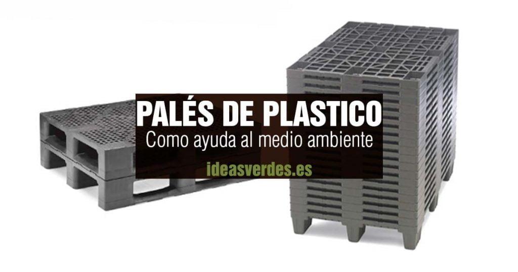 paléts de plastico