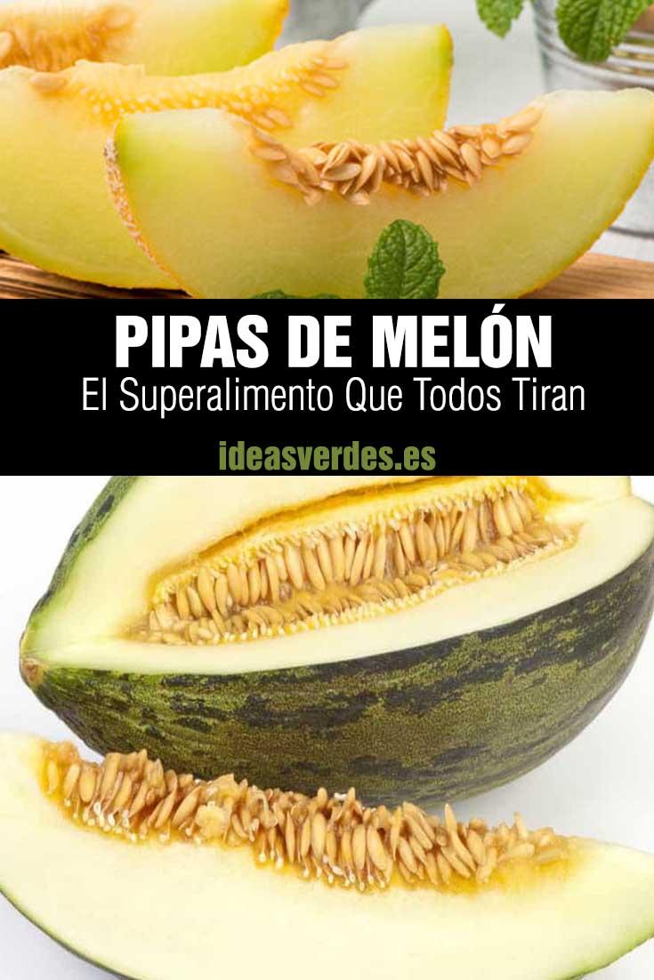 pipas de melón comer beneficios