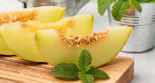 pipas o semillas de melon para comer