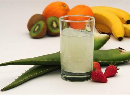zumo o jugo de aloe vera