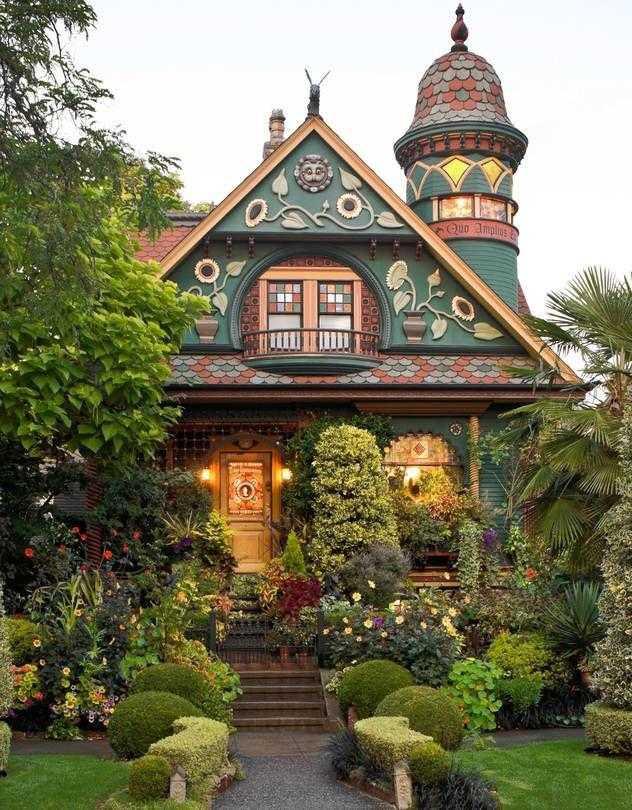 Casa Victoriana En Seattle Obra Arquitectónica