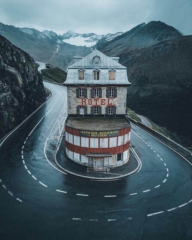 Gletscher Restaurant Obra Arquitectonica