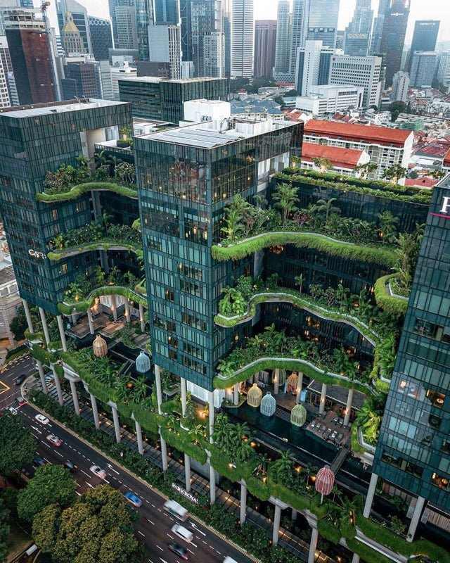 Hotel Park Royal Singapur Obra Arquitectonica