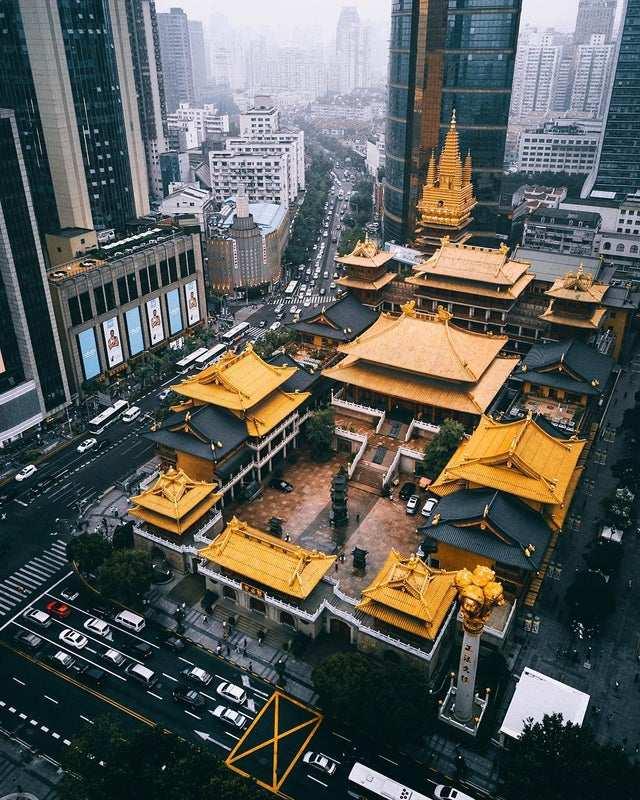 TEMPLO JING'ANshanghai china