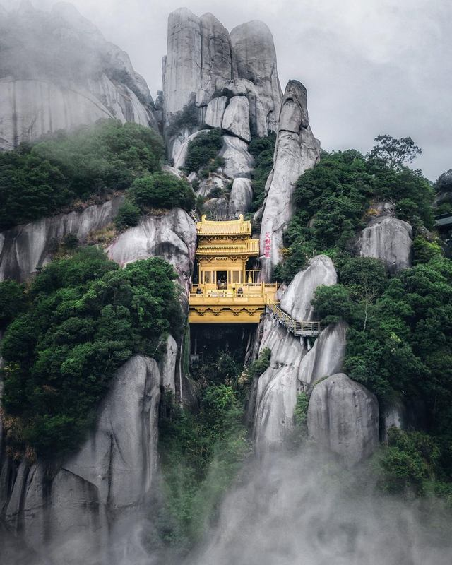 Templo de Yipianwachan Obra Arquitectonica