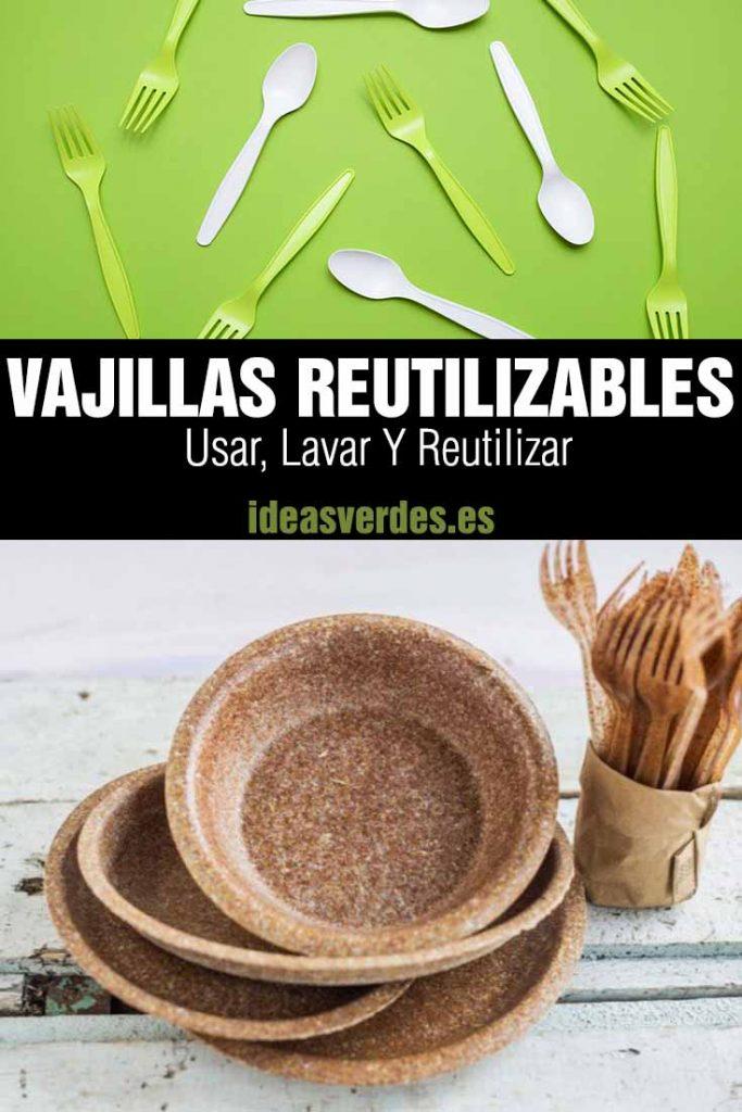 Vajillas reutilizables