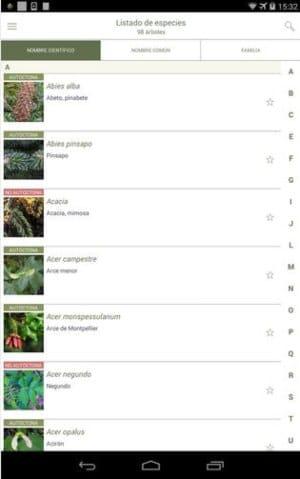 aplicacion para reconocer plantas