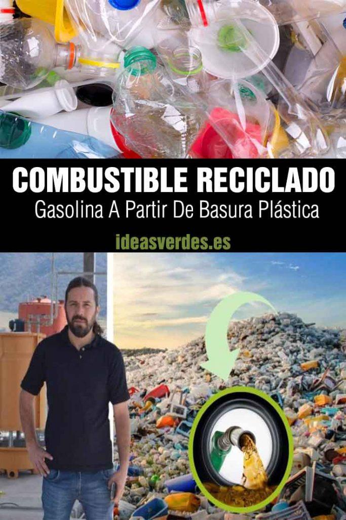 gasolina plástico basura