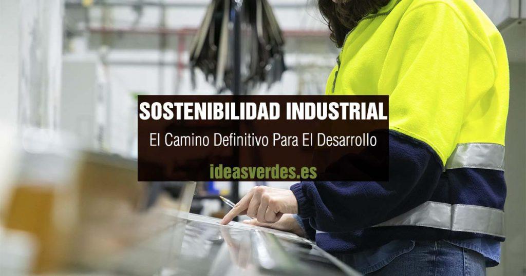 sostenibilidad industrial