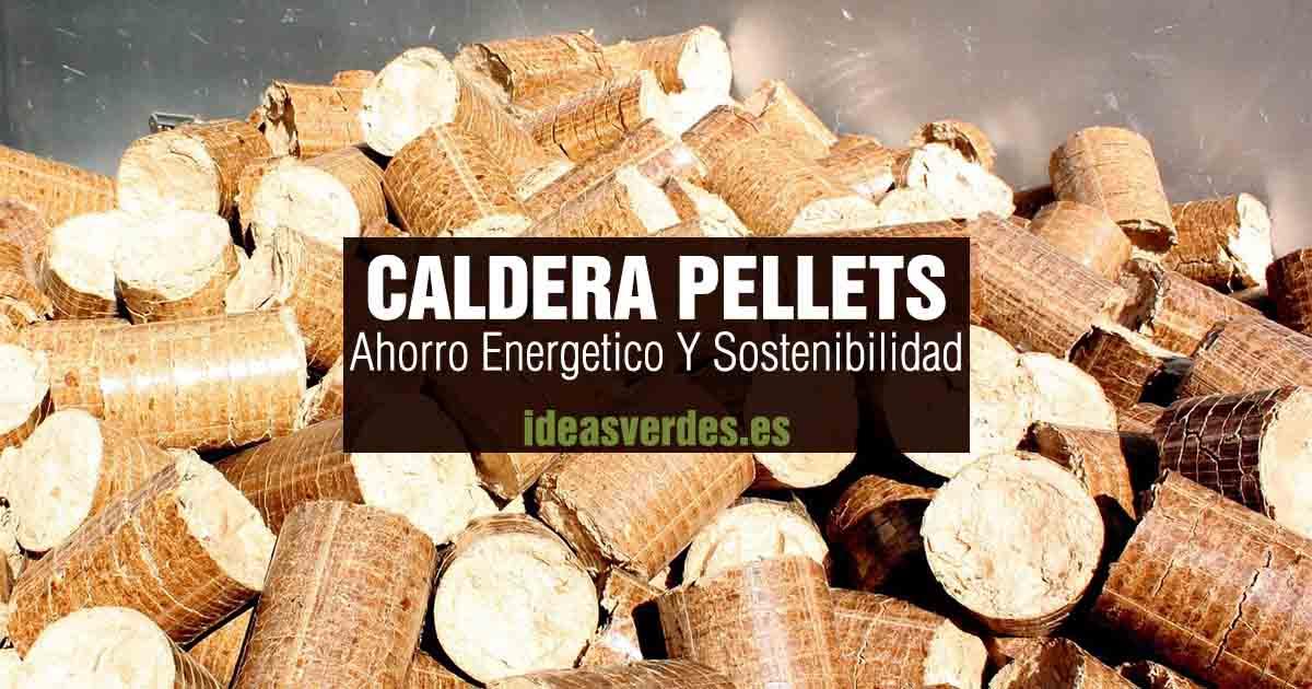 caldera de pellets sostenible